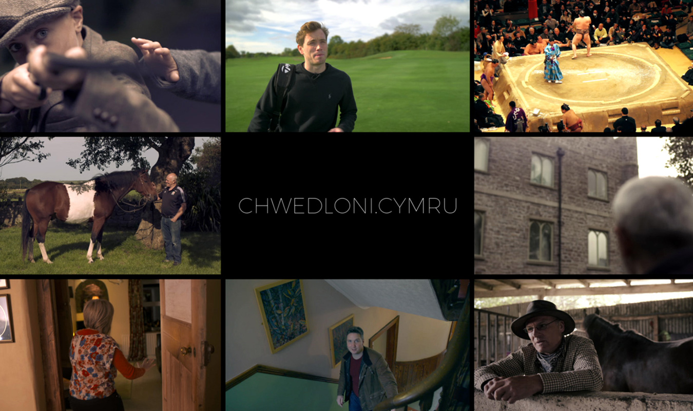 A collection of stills from the Chwedloni project around the url Chwedloni.Cymru